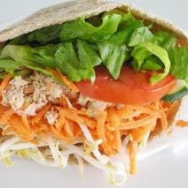 Tuna Salad Pita (white)