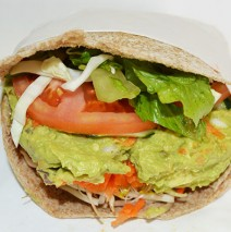 Avocado Salad Pita (in season)