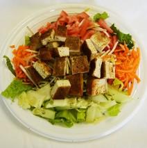 Baked Tofu Salad